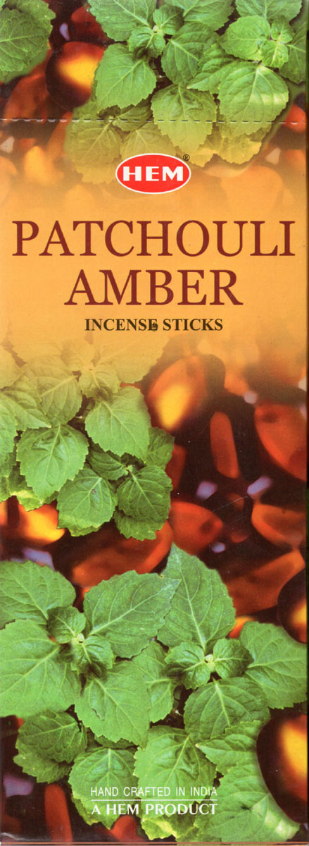 Hem Incense Sticks - PATCHOULI AMBER