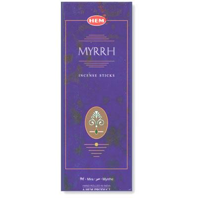 Hem Incense Sticks - MYRRH