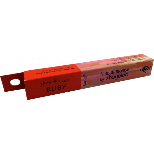 Shoyeido Natural Incense - RUBY