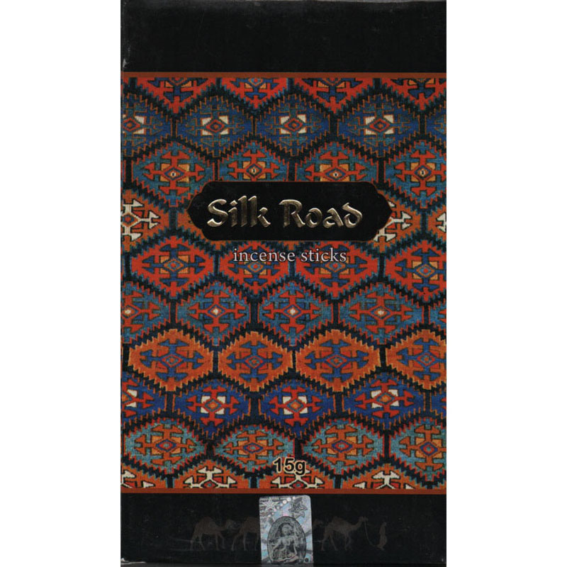 Kamini Incense Sticks - SILK ROAD - 15g Flat Box