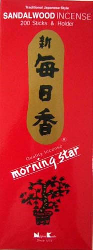 Morning Star Incense - SANDALWOOD - 200 Sticks