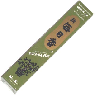 Morning Star Incense - GREEN TEA - 50 Sticks