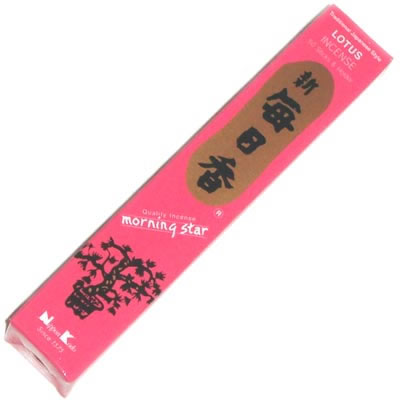 Morning Star Incense - LOTUS - 50 Sticks