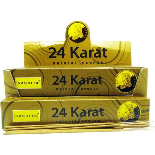 Nandita Incense Sticks - 24 KARAT Organic