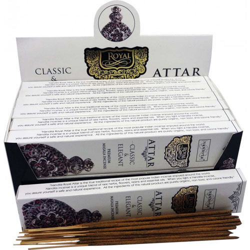 Nandita Incense Sticks - ROYAL ATTAR Organic