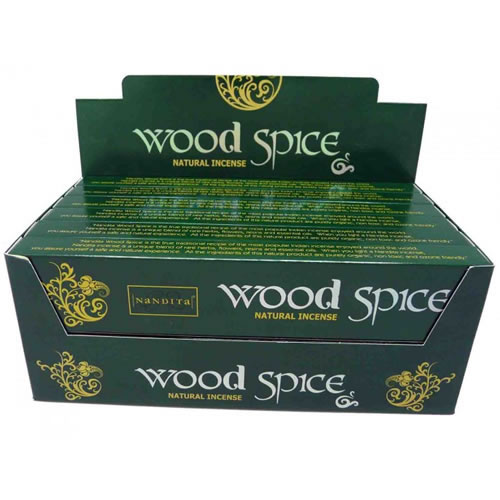 Nandita Incense Sticks - WOOD SPICE Organic
