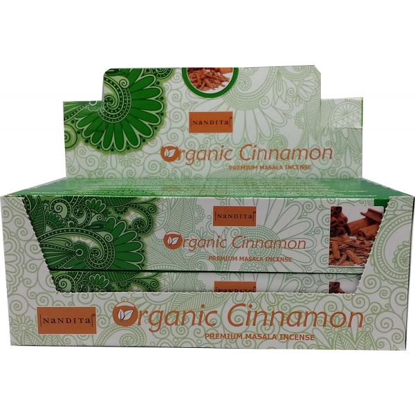 Nandita Incense Sticks - ORGANIC CINNAMON