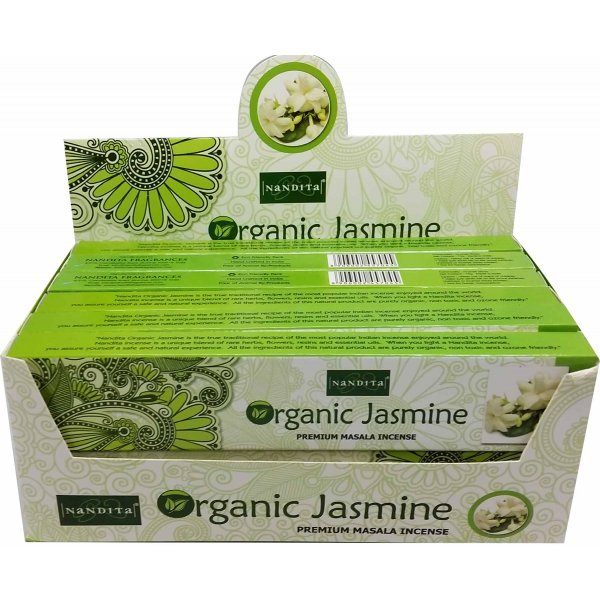 Nandita Incense Sticks - ORGANIC JASMINE