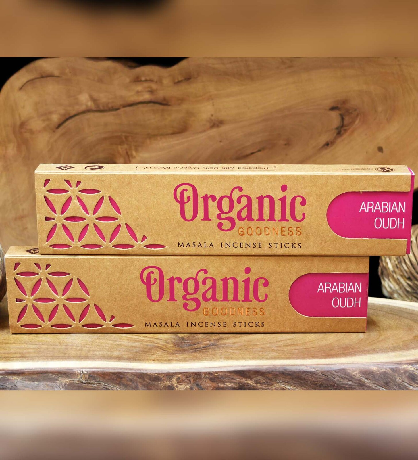 Organic Goodness Masala Incense - ARABIAN OUDH