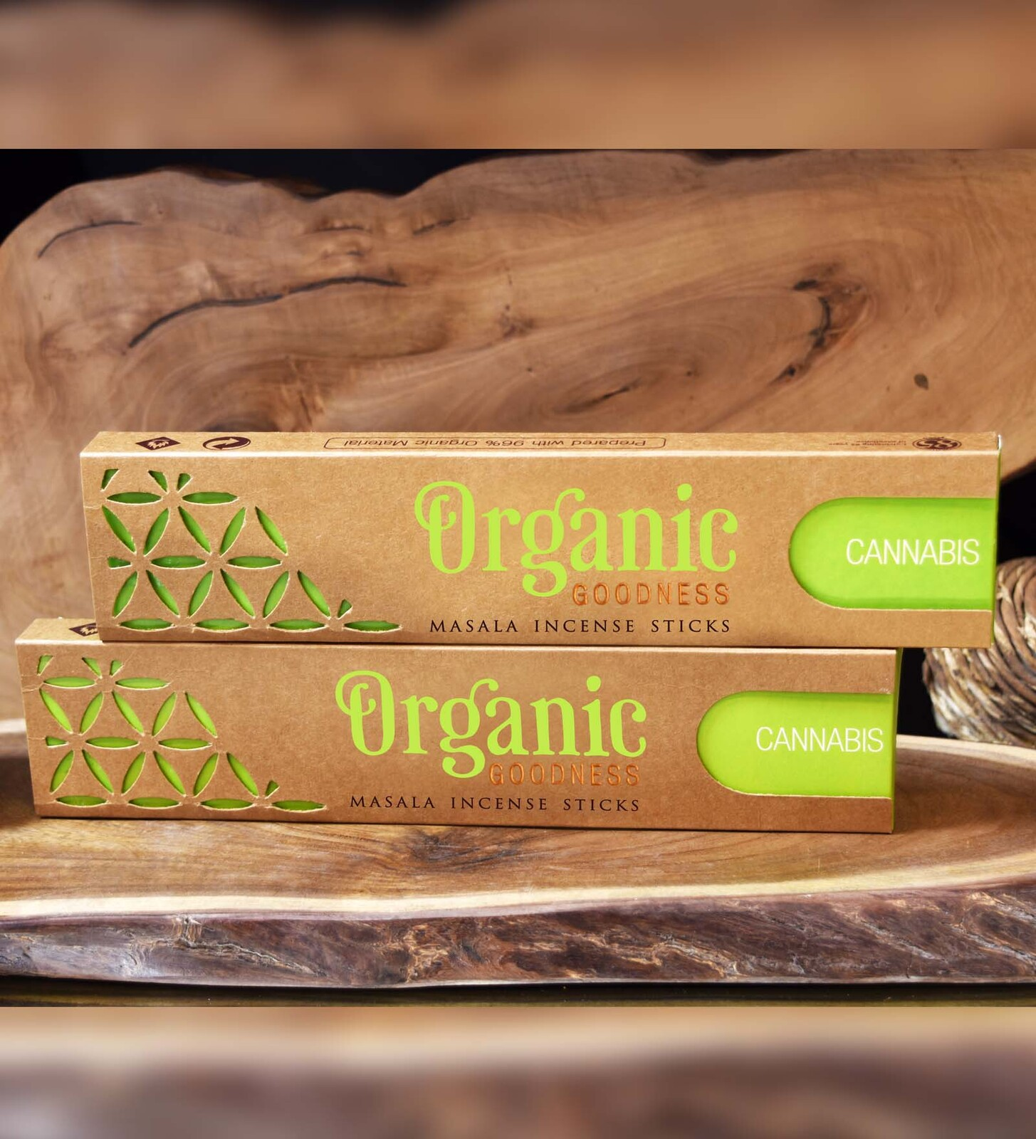 Organic Goodness Masala Incense - CANNABIS