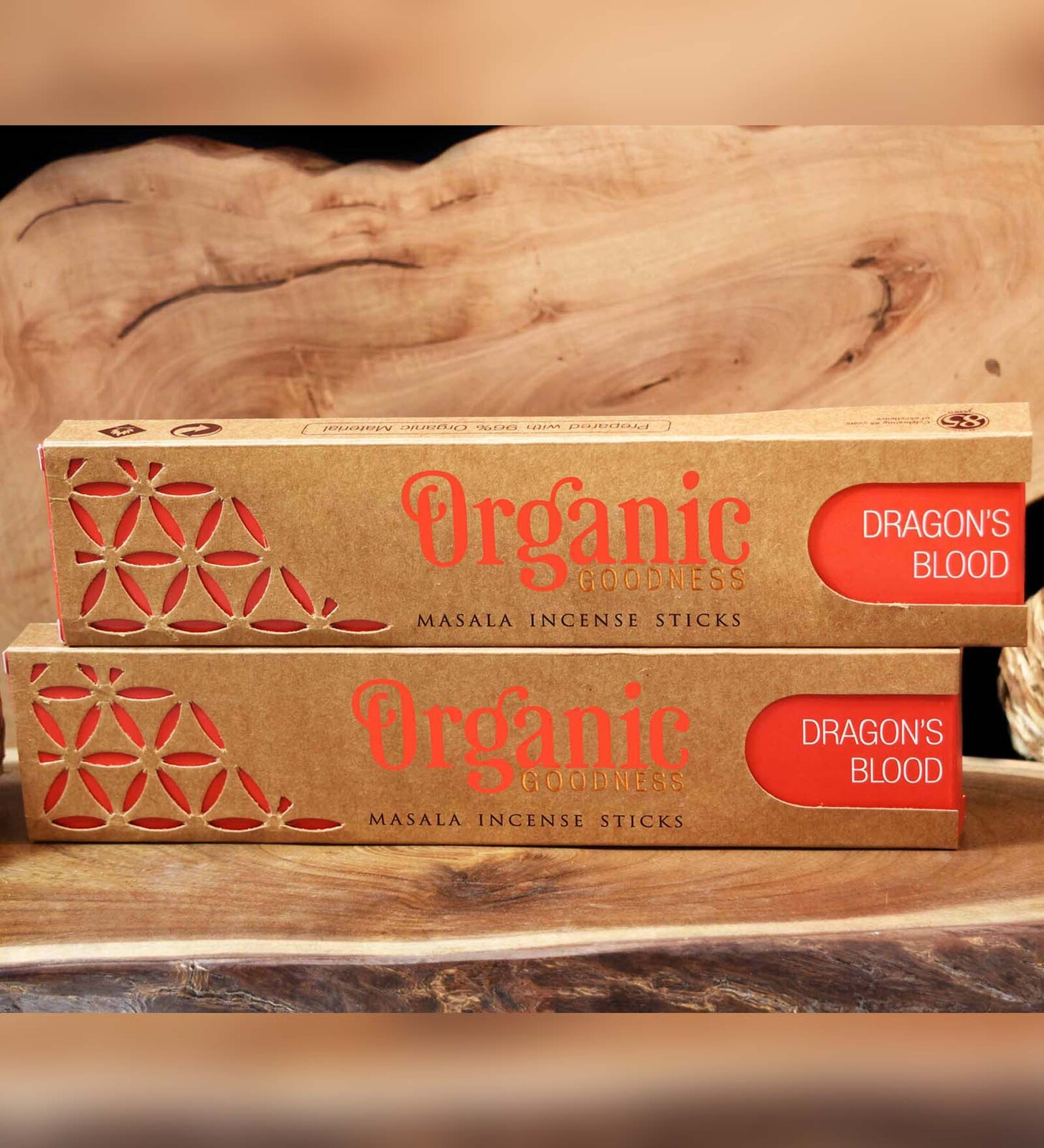 Organic Goodness Masala Incense - DRAGONS BLOOD