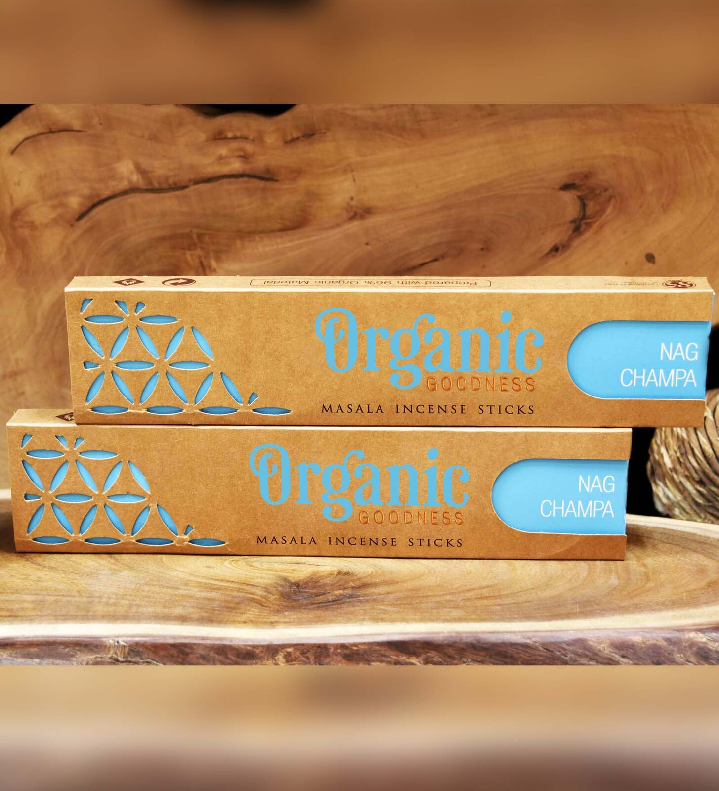 Organic Goodness Masala Incense - NAG CHAMPA