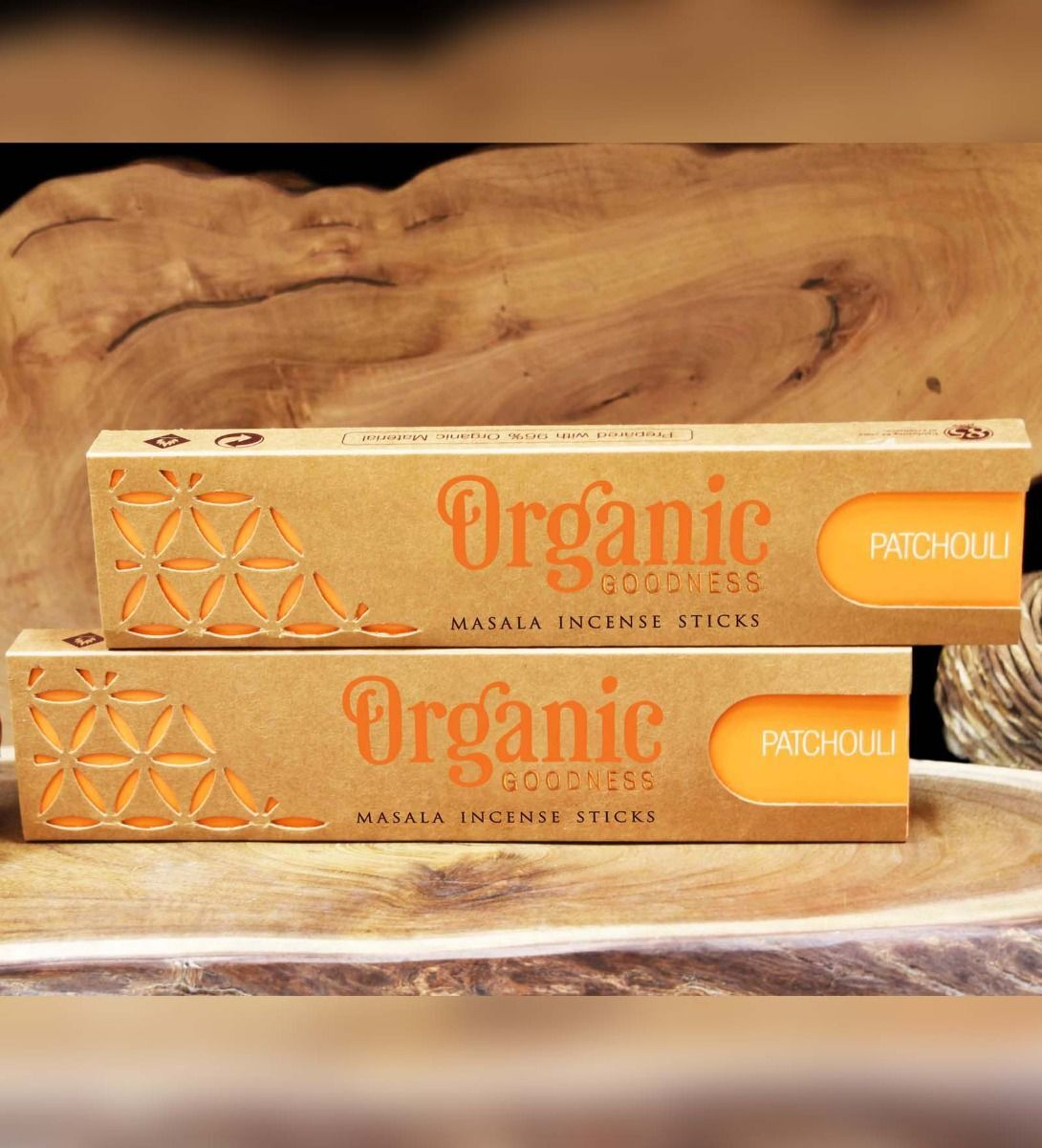 Organic Goodness Masala Incense - PATCHOULI