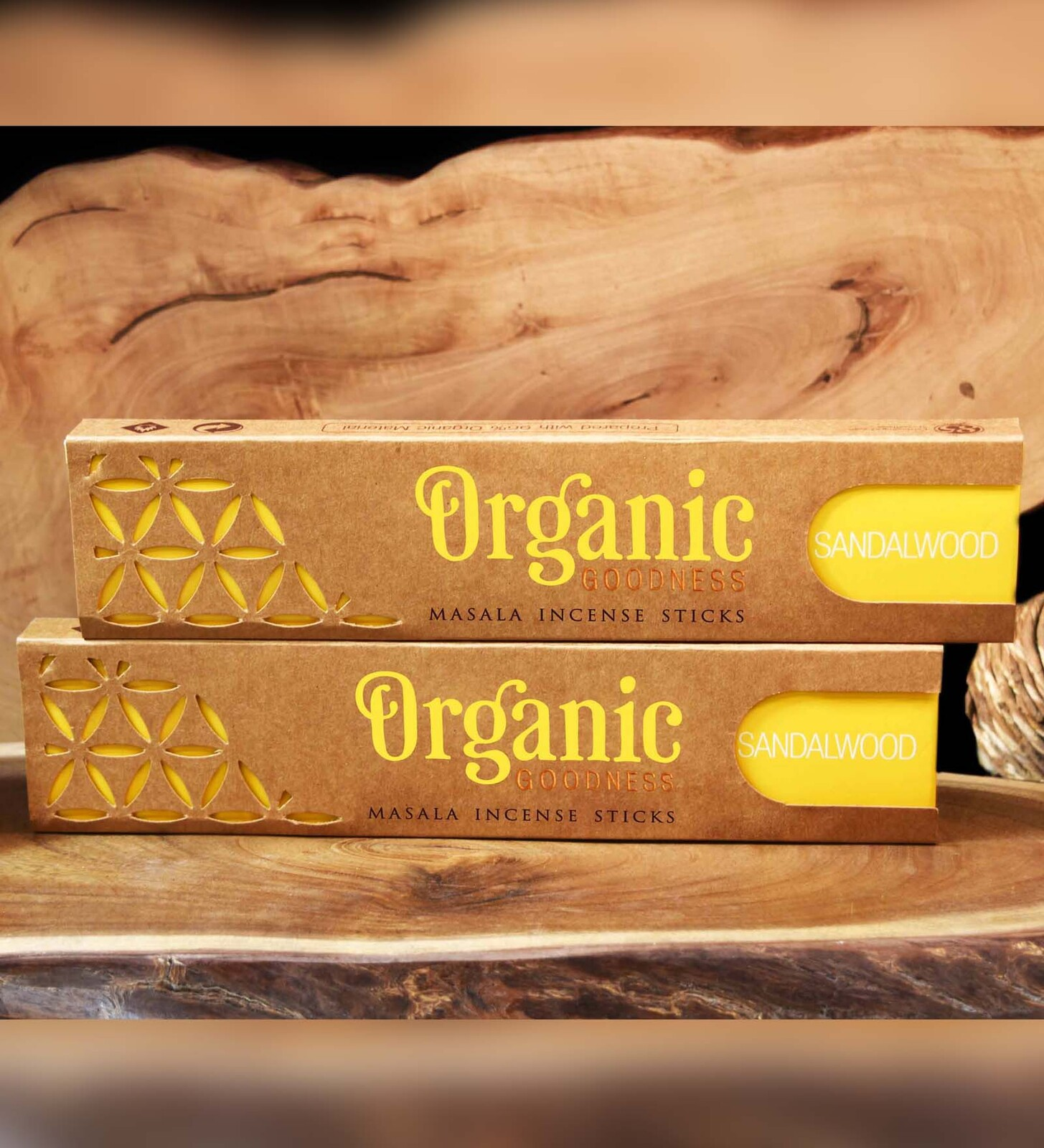 Organic Goodness Masala Incense - SANDALWOOD
