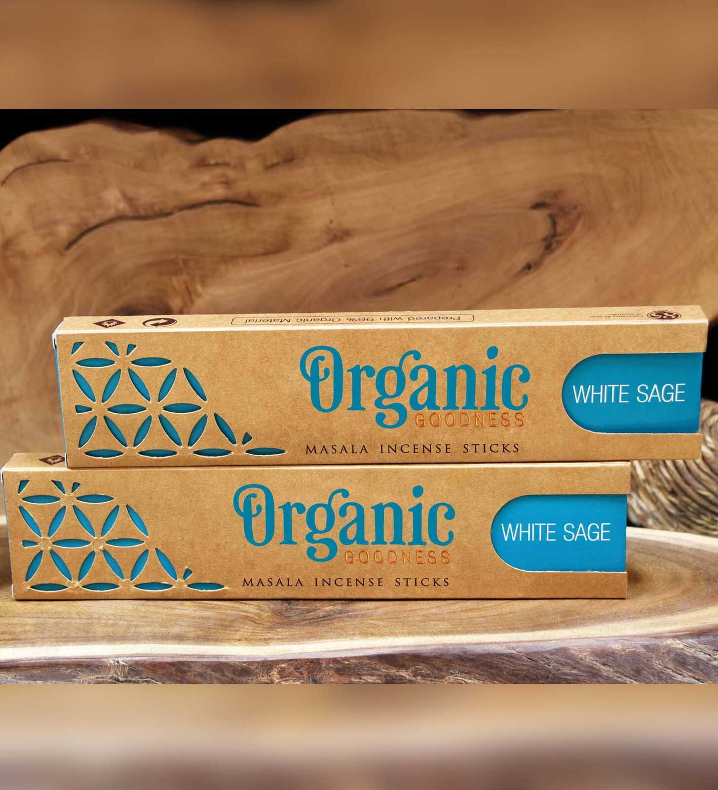 Organic Goodness Masala Incense - WHITE SAGE