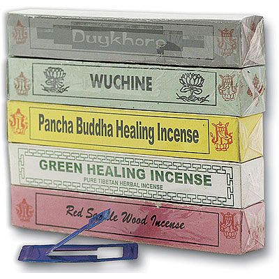 Tibetan Incense - Lama Collection (5 boxes)