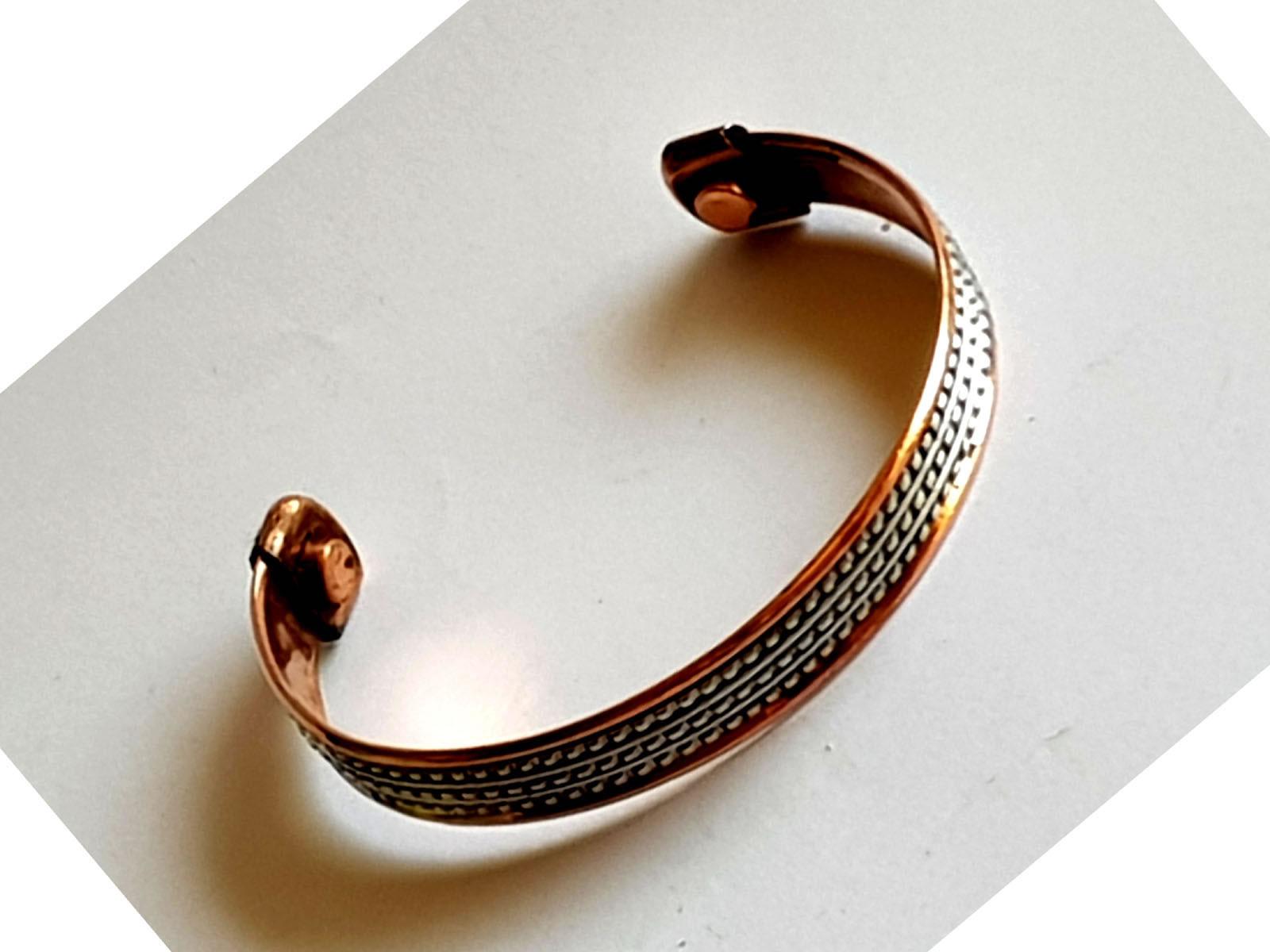 Copper Bangle Magnetic Bracelet #1