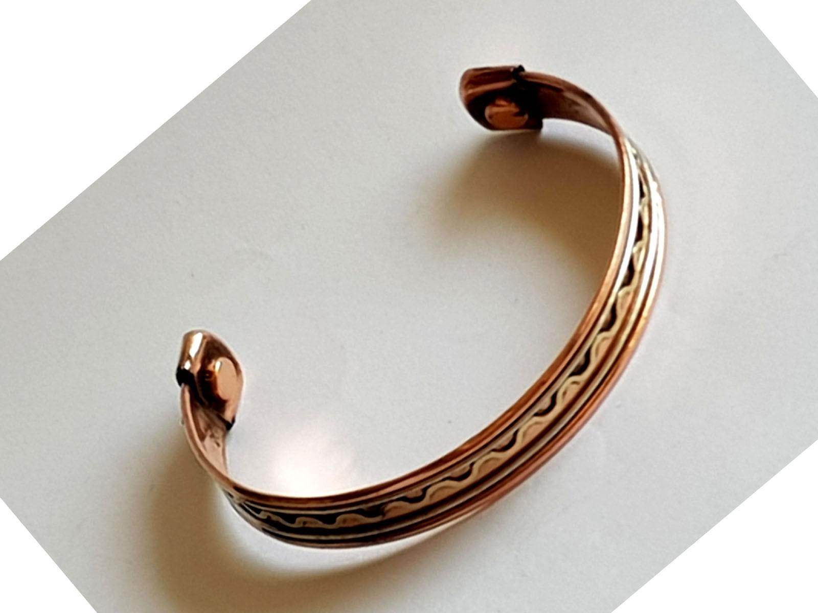 Copper Bangle Magnetic Bracelet #4