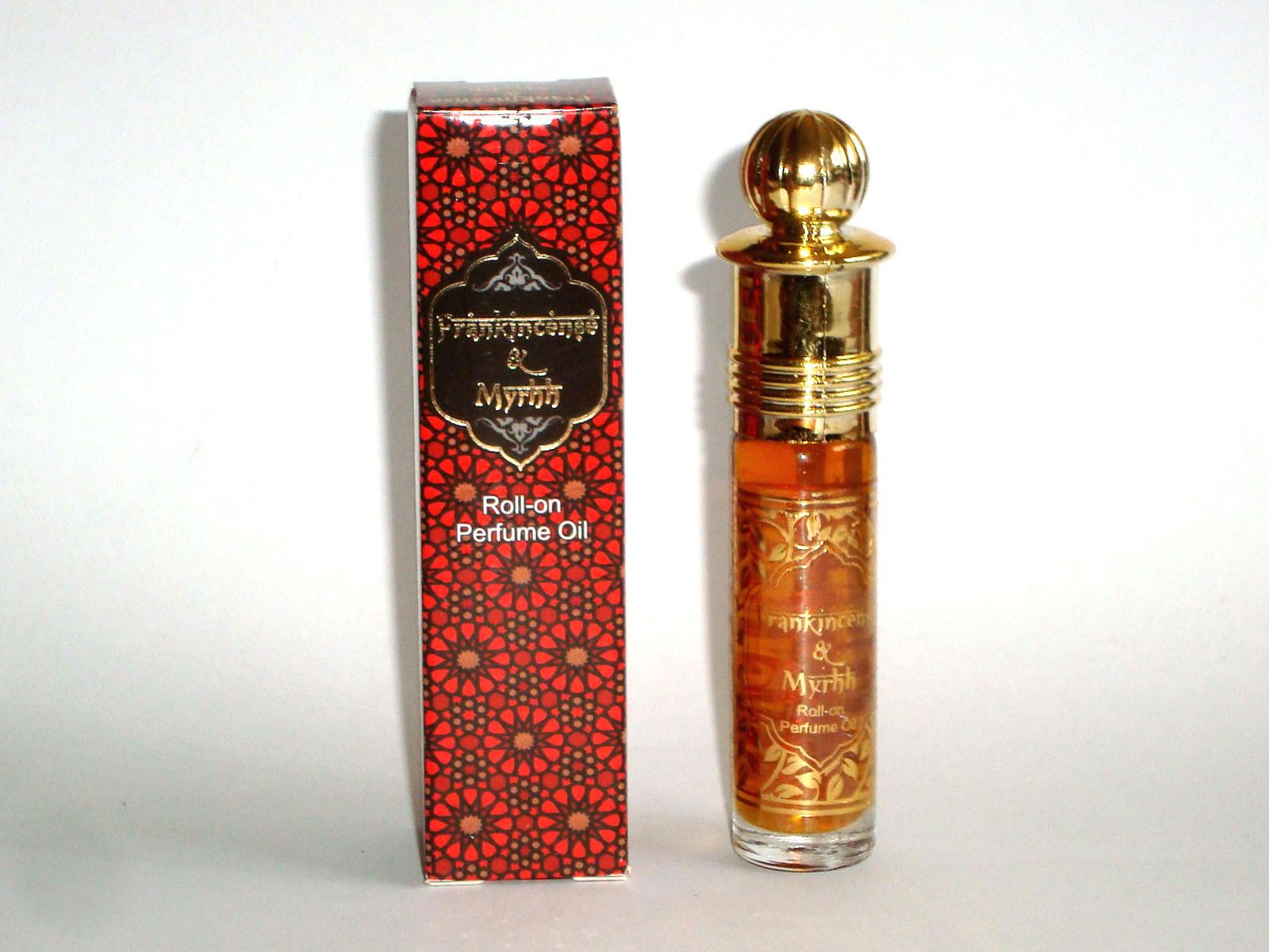Kamini Perfume Oil - PREMIUM Frankincense & Myrrh