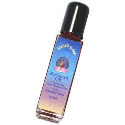 Sacred Scent Perfumed Oil - GREEN TEA & LIME