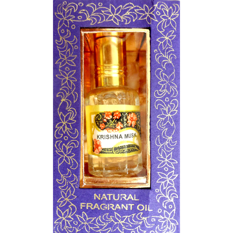 Song of India Perfume Oil - KRISHNA MUSK - 10ml