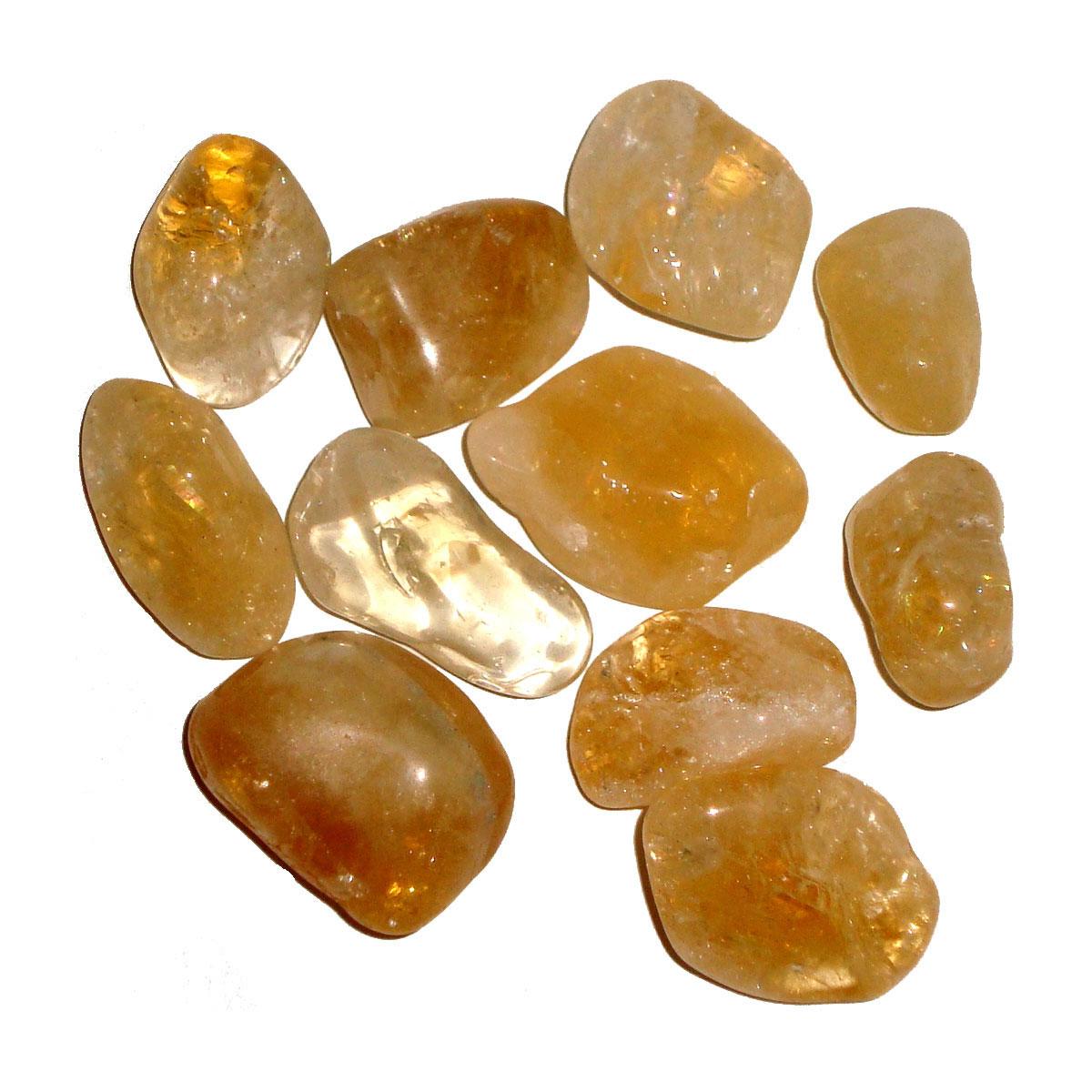 Tumbled Stones - CITRINE