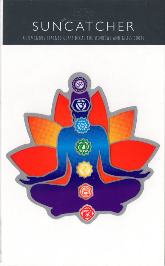 Decal / Window Sticker - Suncatcher CHAKRA
