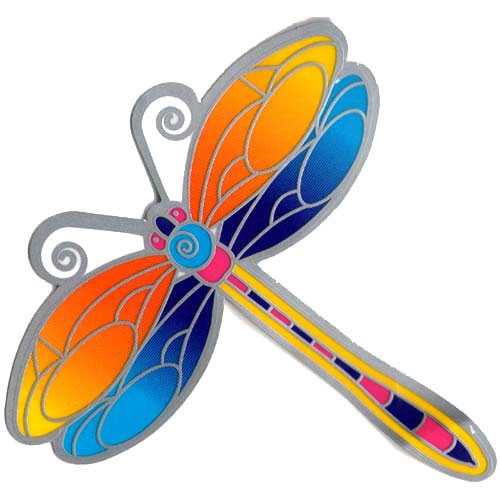 Decal / Window Sticker - Suncatcher DRAGONFLY