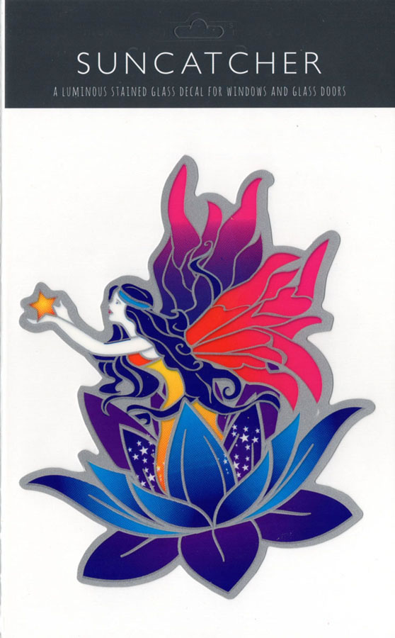 Decal / Window Sticker - Suncatcher FLOWER FAIRY