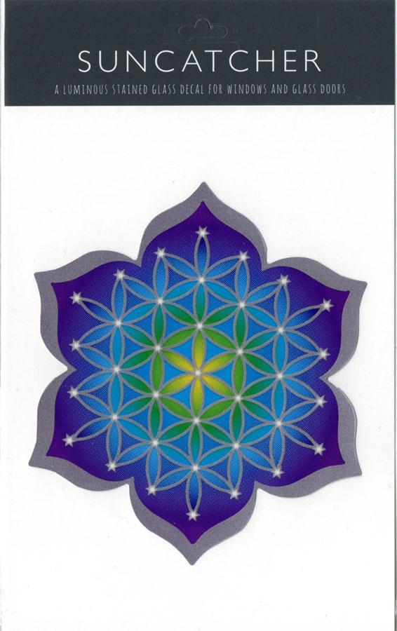 Decal / Window Sticker - Suncatcher FLOWER of LIFE