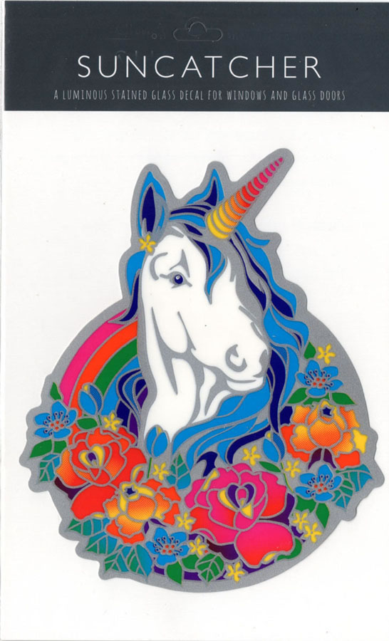 Decal / Window Sticker - Suncatcher MAGIC UNICORN