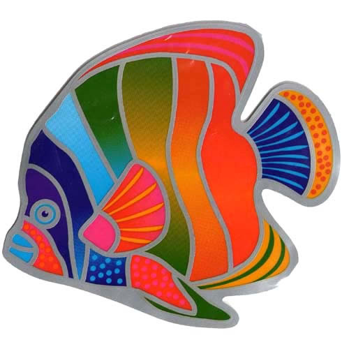 Decal / Window Sticker - Suncatcher RAINBOW FISH
