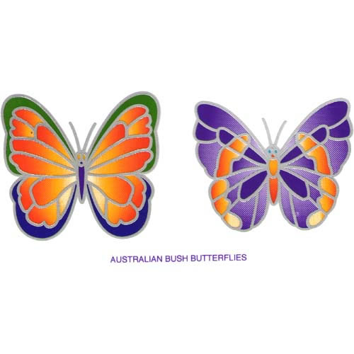 Decal / Window Sticker - Sunlight AUSTRALIAN BUSH BUTTERFLIES