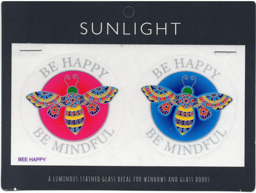 Decal / Window Sticker - Sunlight BE HAPPY