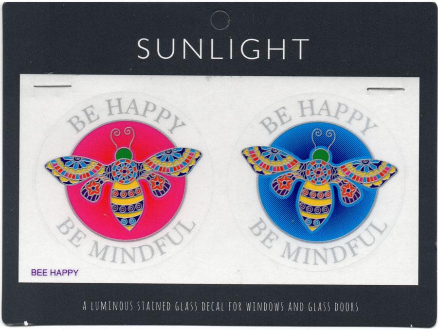 Decal / Window Sticker - Sunlight BE HAPPY