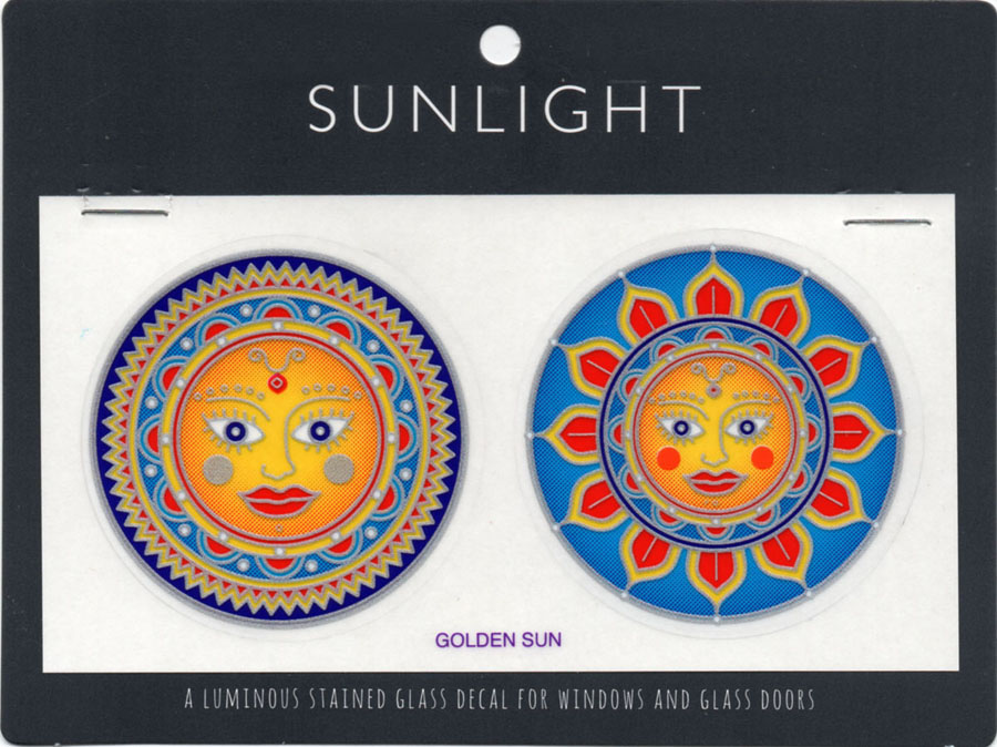 Decal / Window Sticker - Sunlight GOLDEN SUN