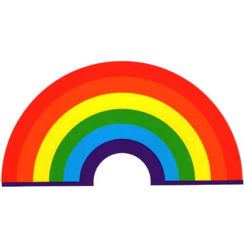 Decal / Window Sticker - Sunlight LITTLE RAINBOW