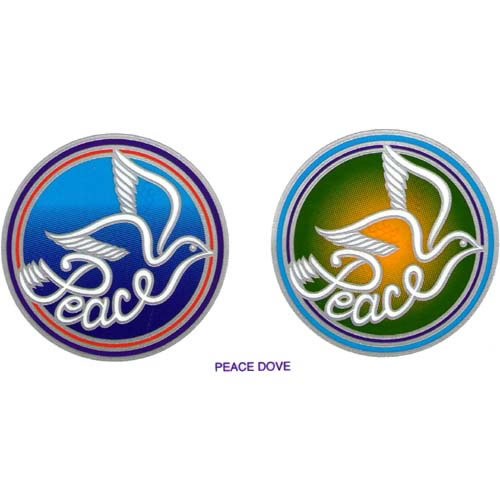 Decal / Window Sticker - Sunlight PEACE DOVE