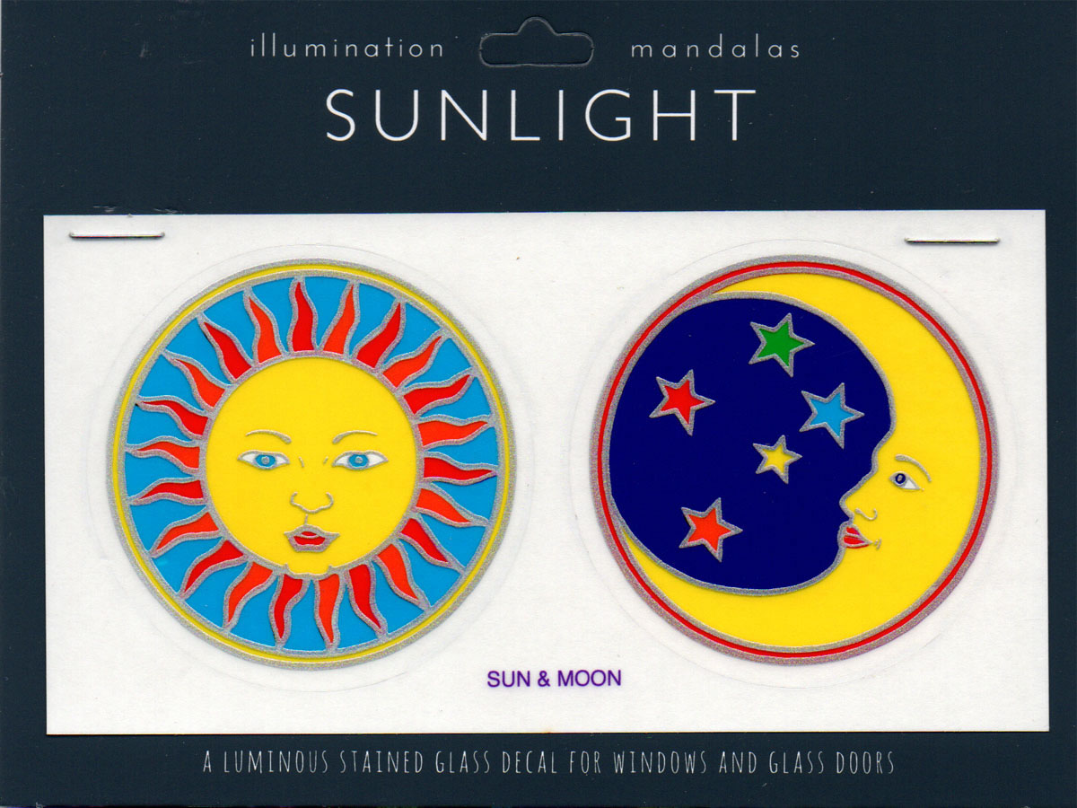 Decal / Window Sticker - Sunlight SUN & MOON
