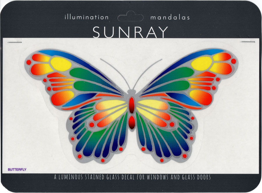 Decal / Window Sticker - Sunray BUTTERFLY Large