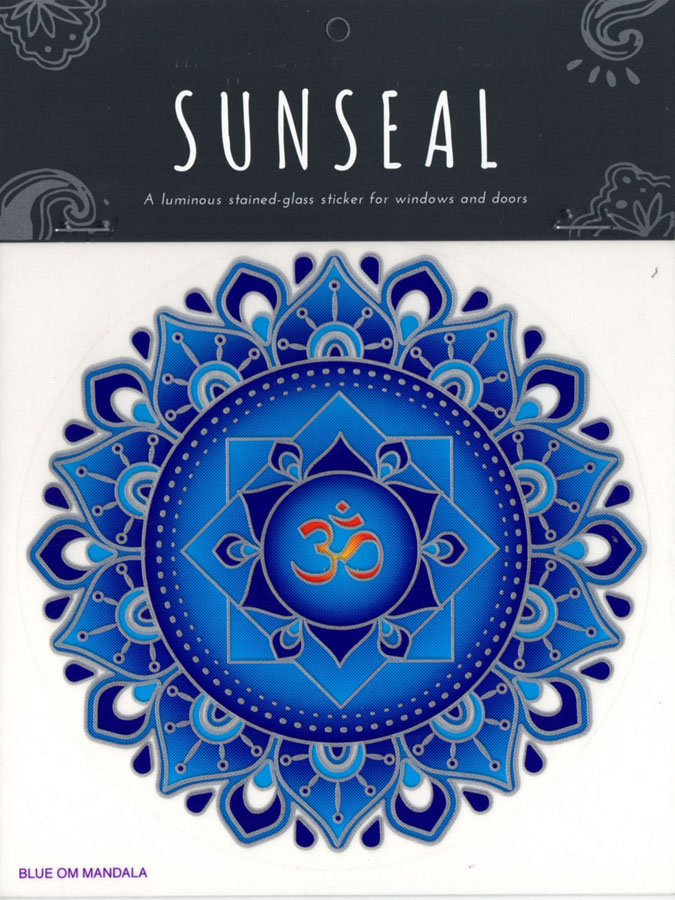 Decal / Window Sticker - Sunseal BLUE OM
