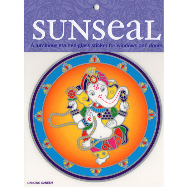 Decal / Window Sticker - Sunseal DANCING GANESH