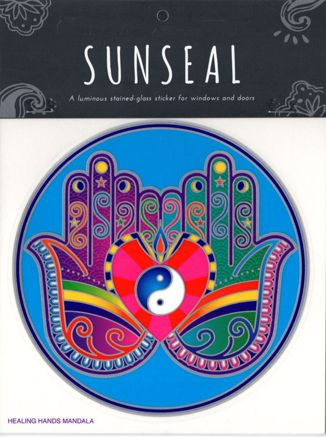 Decal / Window Sticker - Sunseal HEALING HANDS