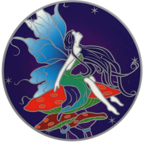 Decal / Window Sticker - Sunseal MOON FAIRY