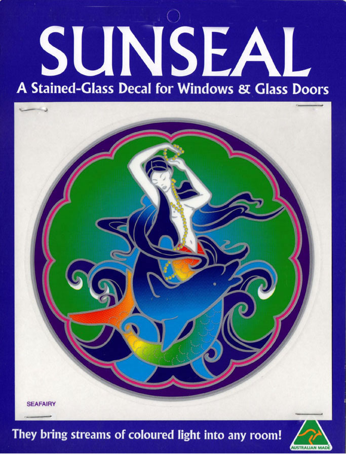Decal / Window Sticker - Sunseal SEA FAIRY