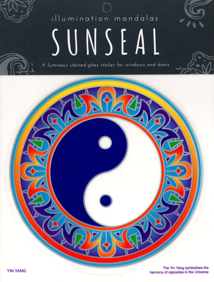Decal / Window Sticker - Sunseal YIN YANG