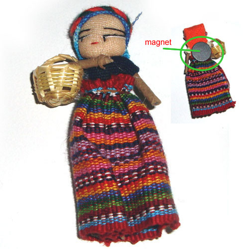 Worry Doll Magnet - Large